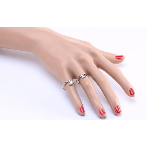 2018 New Resizable Real 925 Sterling Silver ring-Sinbadco