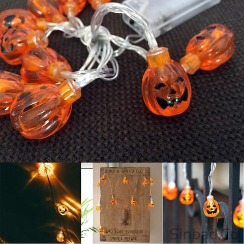 2m Halloween 20 Leds Creative string light-Sinbadco