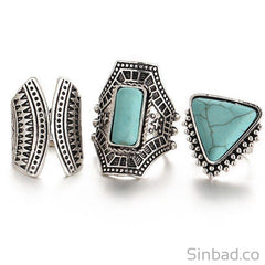 3Pcs Set Boho Finger Ring