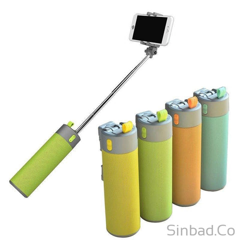 4 in 1 Power Bank+Selfie Stick, Speaker & Holder