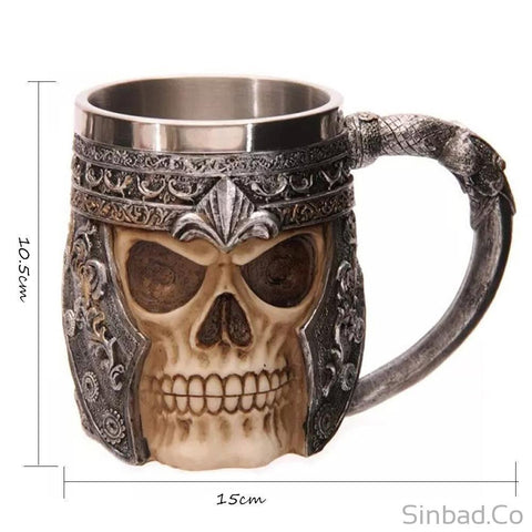 4 Types 3D Creepy Skull Mug Novelty Decoration-Mug-Sinbadco
