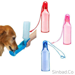 500Ml Plastic Foldable Pet Water Feeder