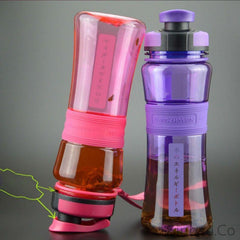 550ml PORTABLE SPORTS WATER BOTTLE - Stay Hydrated All Day Long!