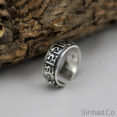 Adjustable Lover S925 Solid Thai Silver Ring