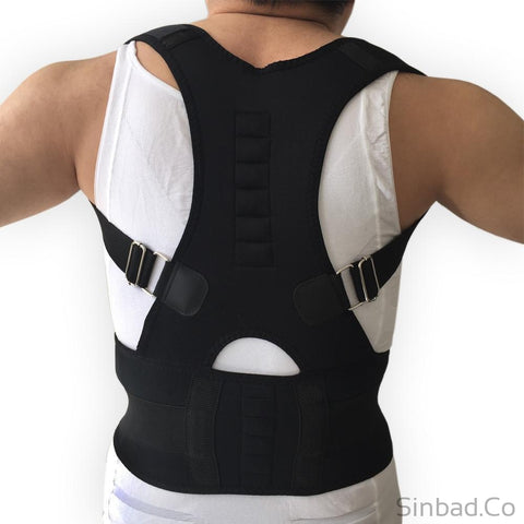 ADJUSTABLE MAGNETIC ORTHOPEDIC CORSET POSTURE CORRECTOR-Sinbadco