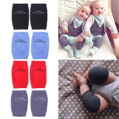 Anti-Slip Cotton Crawling Baby Knees protector - 1 Pair-Baby-Sinbadco
