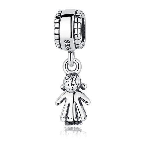 Authentic 925 Sterling Silver Beads Original Pandora Bracelets DIY Charms-Sinbadco