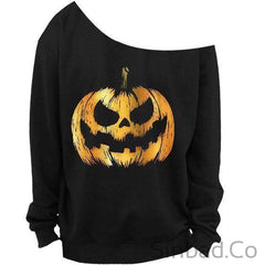 Autumn And Winter Casual Long Sleeve T Shirt Off The Shoulder