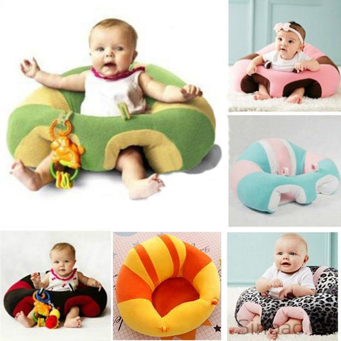Baby Plush Soft Animal Support Sitting Posture Comfortable Lovely Sofa-Sinbadco