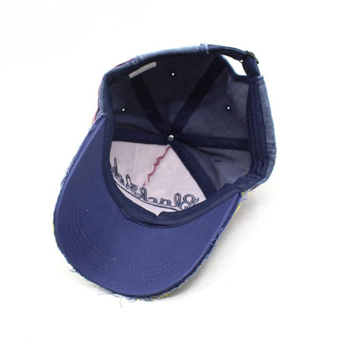 Baseball Bone Hats Vintage Hat Gorras Letter Cotton-Sinbadco