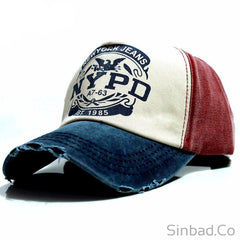 Baseball Fitted Casual Cap