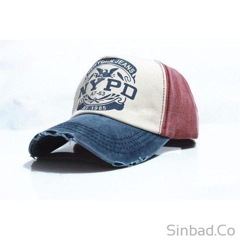 Baseball Fitted Casual Cap-Hat-Sinbadco