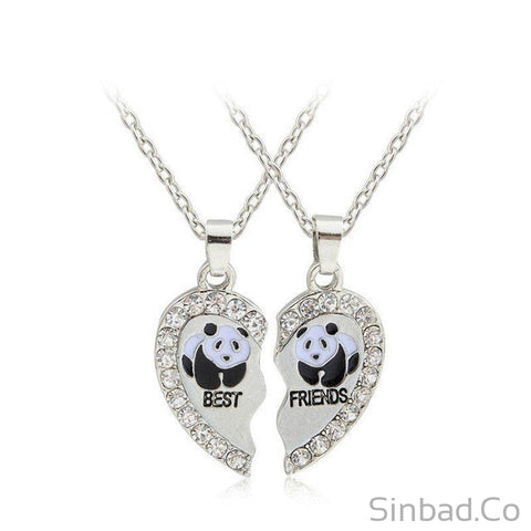 Best Friends Ever Necklace-Necklaces-Sinbadco