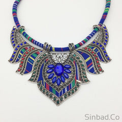 Big Boho Necklace-Necklaces-Sinbadco