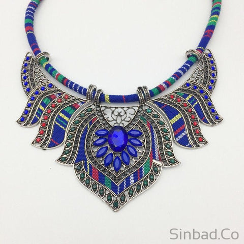 Big Boho necklace-Sinbadco