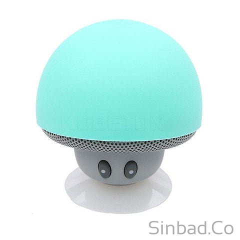 Bluetooth Mushroom Mini Speaker + Phone Holder-Phone holder-Sinbadco
