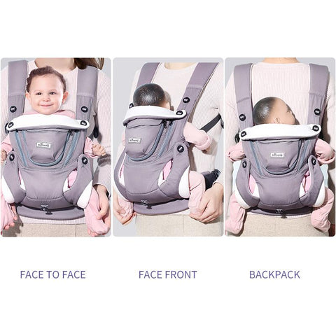 Breathable Front Facing Baby Sling Wrap Kangaroo For 0-12 Months-Sinbadco