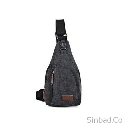 Canvas Shoulder Bag-Fashion-Sinbadco