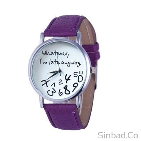 Casual Leather Watch-WATCHES-Sinbadco