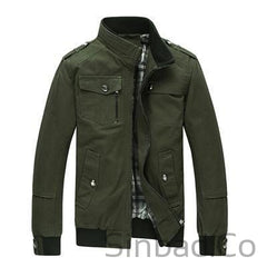 Casual Men's Army Jacket Men