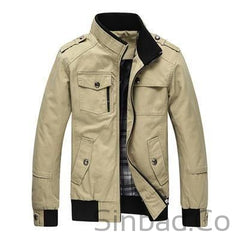 Casual Men's Army Jacket Men-Sinbadco