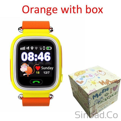 Child Gps Smart Watch With Wifi Touch Screen For Kid Safe Anti-Lost Monitor-smartwatch-Sinbadco
