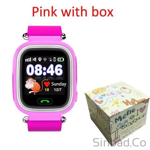 Child Gps Smart Watch With Wifi Touch Screen For Kid Safe Anti-Lost Monitor-