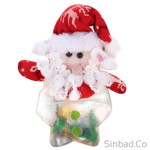Christmas Candy Bags Gift Storage Bottle Holder-Sinbadco