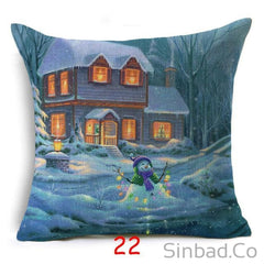 Christmas Style Pillows Cover