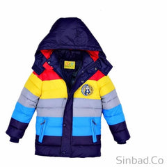 Colorful Children Hooded Jackets