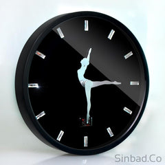 Creative Ballet Silent wall clock