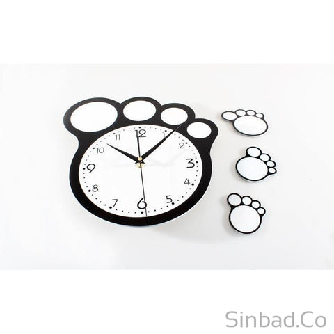 Creative Feet Quiet Bell Clock-Sinbadco