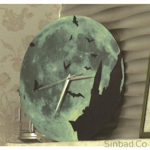 Creative Glowing in the Dark Silent Clock-Sinbadco