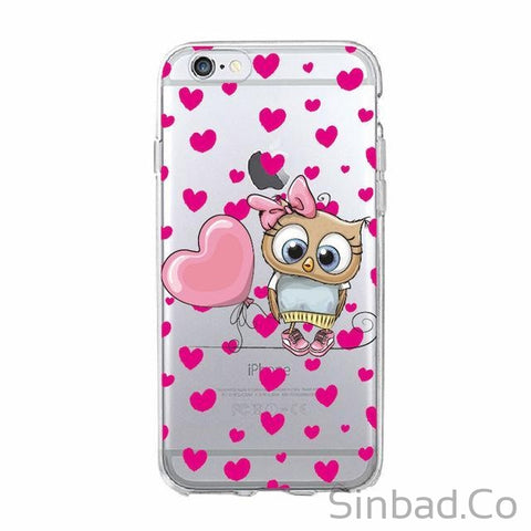 Cute Owl Lover Christmas Phone Case-Sinbadco