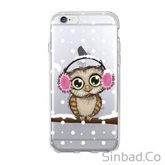 Cute Owl Lover Christmas Phone Case