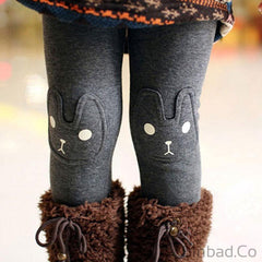 Cute Rabbit Girls Cotton Leggings-Girls legging-Sinbadco