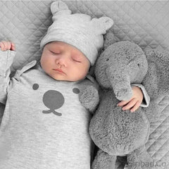 Cute Soft Baby Elephant Plush Pillow