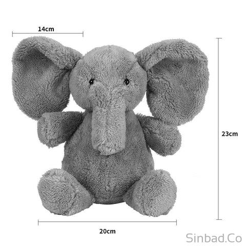 Cute Soft Baby Elephant Plush Pillow-Sinbadco