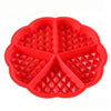 Image of DIY Heart Shape Creative Silicone Muffin Cake Waffle Mold-Sinbadco