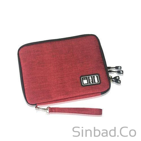Double Layers Gadget Travel Bag-Bags-Sinbadco