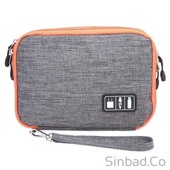 Double Layers Gadget Travel Bag