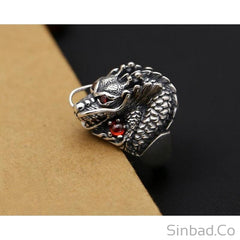 Dragon Thai Silver Vintage Ring