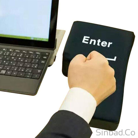 Enter Key Anti Stress Button-Toy-Sinbadco
