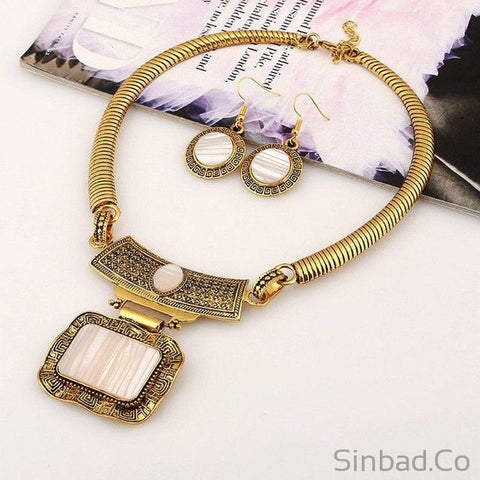 Fashion Choker Jewelry Sets-Jewelry Sets-Sinbadco
