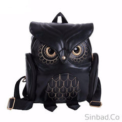 Fashionable Cute Owl Backpack