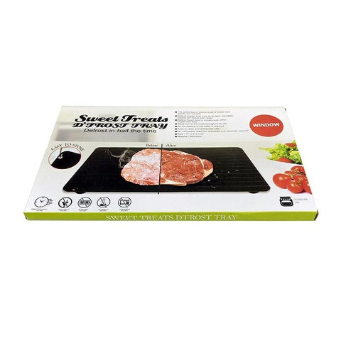 Fast Defrosting Tray - The Safest Way to Defrost Meat or Frozen Food-Sinbadco