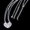 Image of Friendship Broken Heart Necklaces & Pendants-Sinbadco