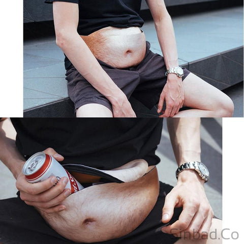 Funny Beer Belly Shape Leisure Waist Bag-bag-Sinbadco