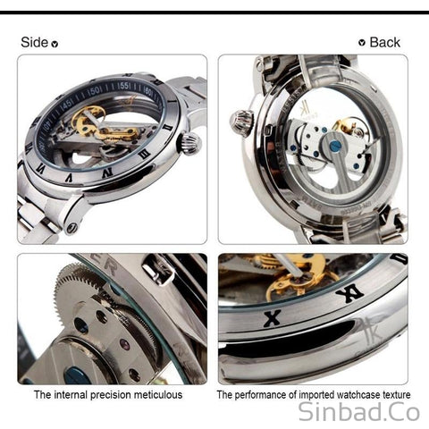 Genuine Creative Hollow Mechanical Watch-Sinbadco