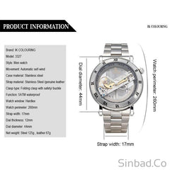 Genuine Creative Hollow Mechanical Watch